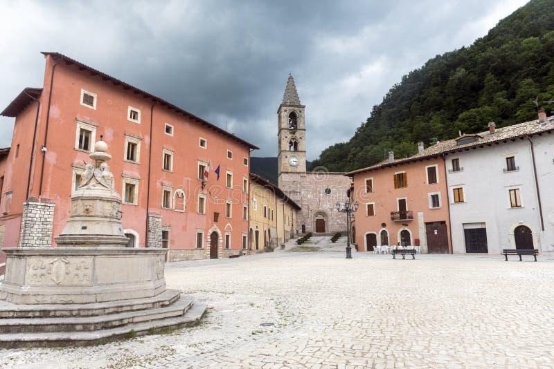 Leonessa Rieti, Włochy (,) obrazy stock