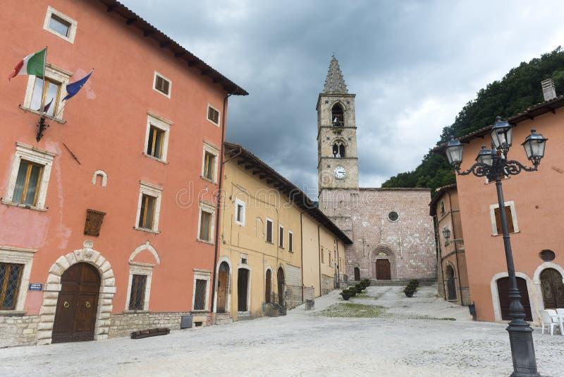 Leonessa Rieti, Włochy (,) obraz royalty free