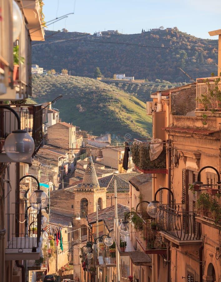 Leonforte, Sicilia fotografia stock
