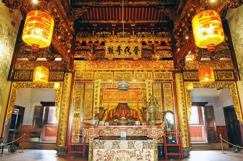 Leong San Tong Khoo Kongsi arkivbilder