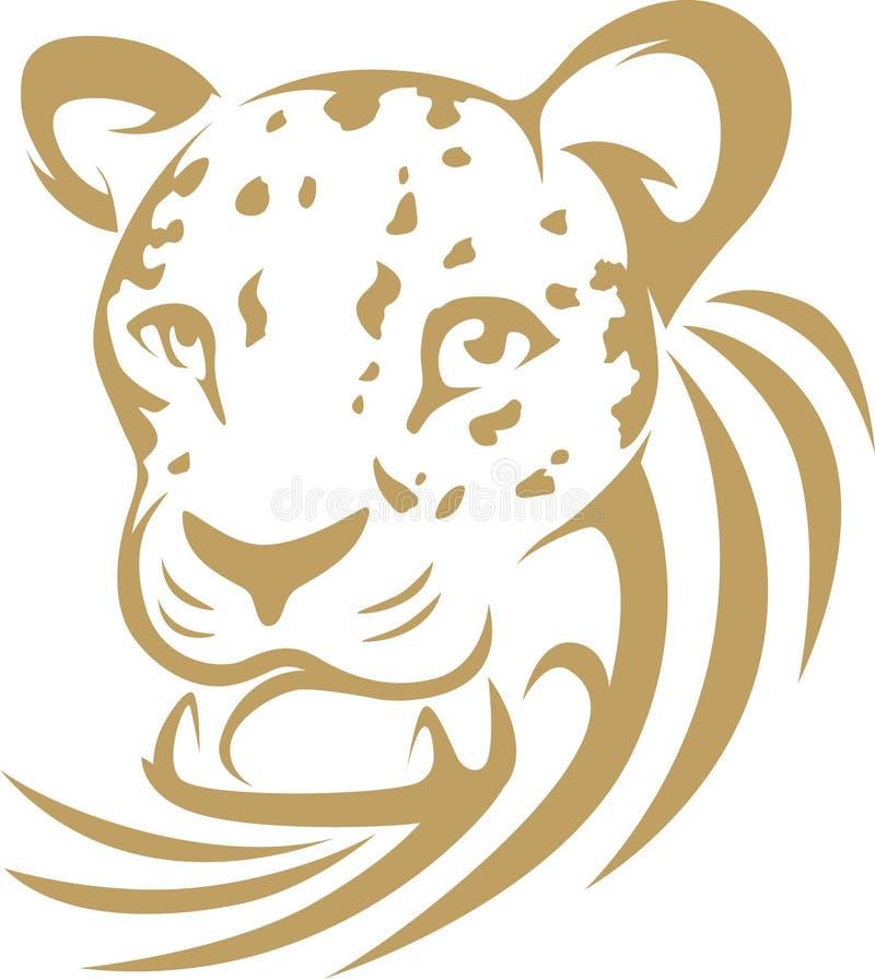leopard θρόισμα ύφους ελεύθερη απεικόνιση δικαιώματος