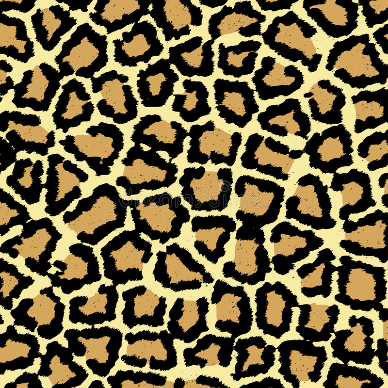 leopard σύσταση τυπωμένων υλών διανυσματική απεικόνιση