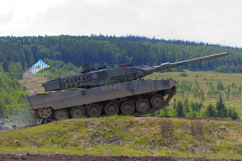Download Leopard 2 tank stock image. Image of armored, maffei, weapon - 2687863