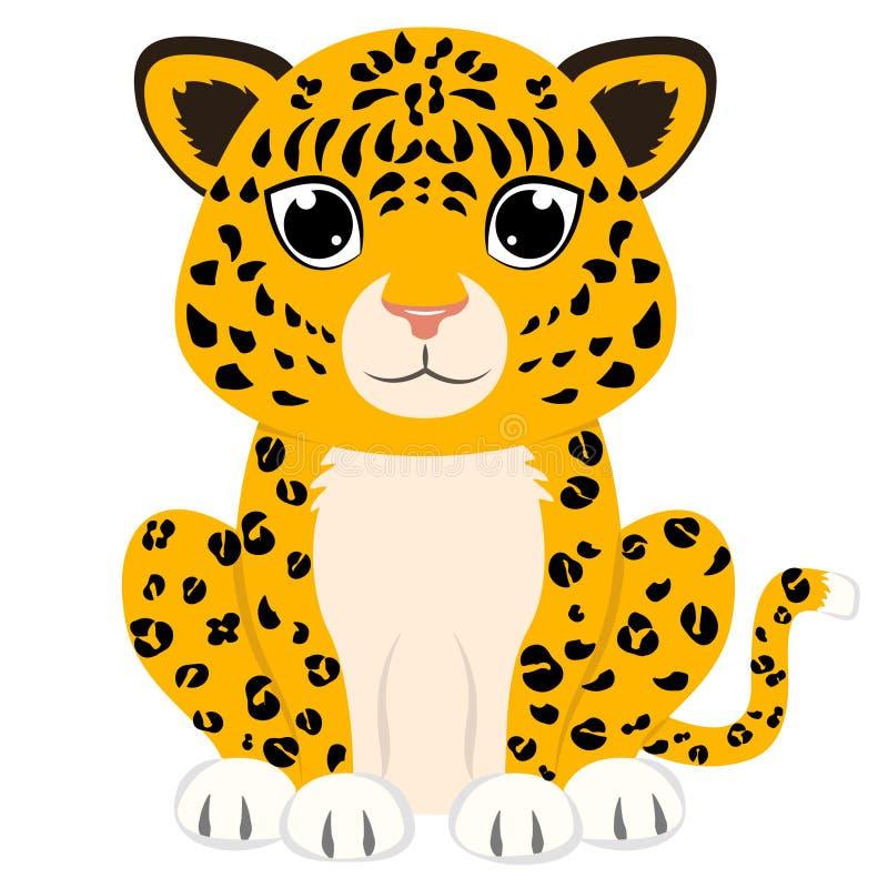 Leopard stock abbildung