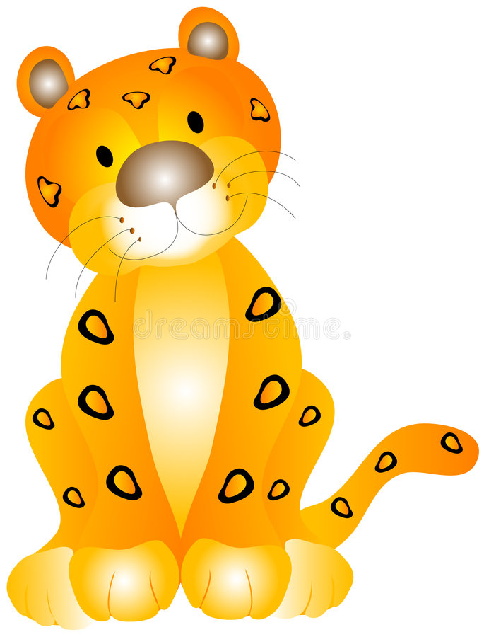 Free Leopard Baby Stock Images - 1444894