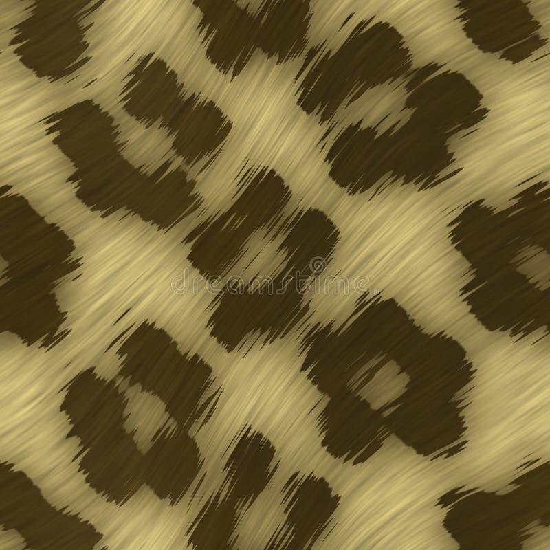 Leopard-Druck stock abbildung