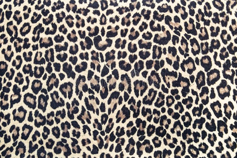 Leopard effect fabric pattern background sample royalty free stock images