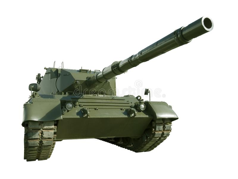 Download Leopard Military Tank On White Stock Image - Image: 4225709