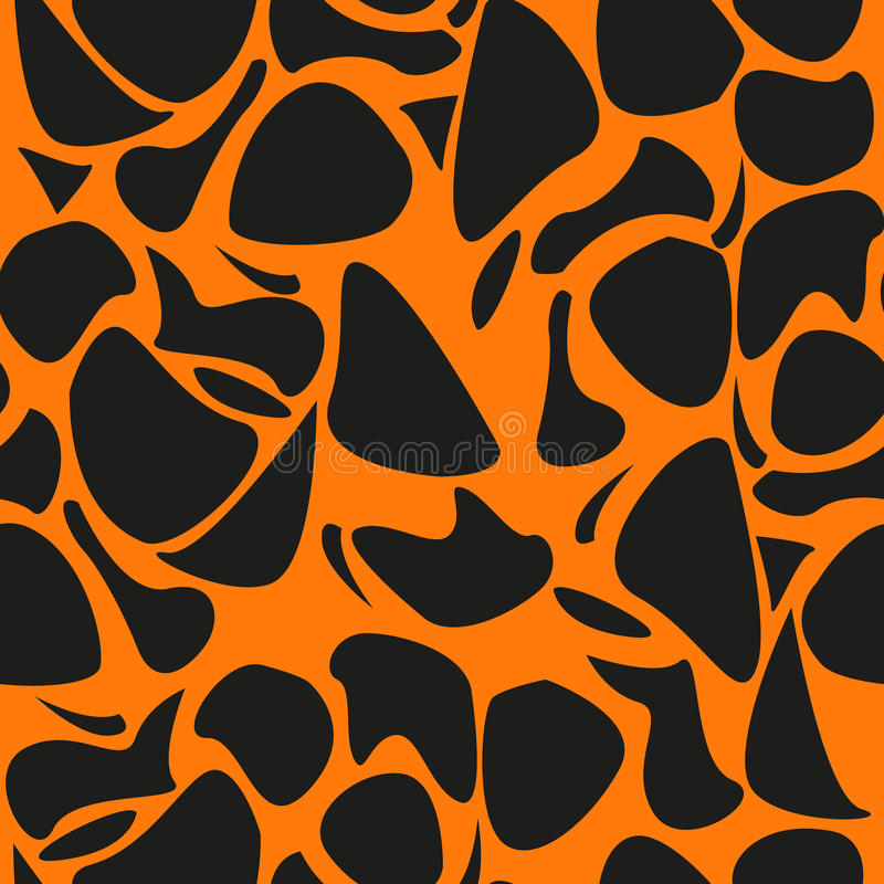 Leopard pattern, repeating vector background stock image