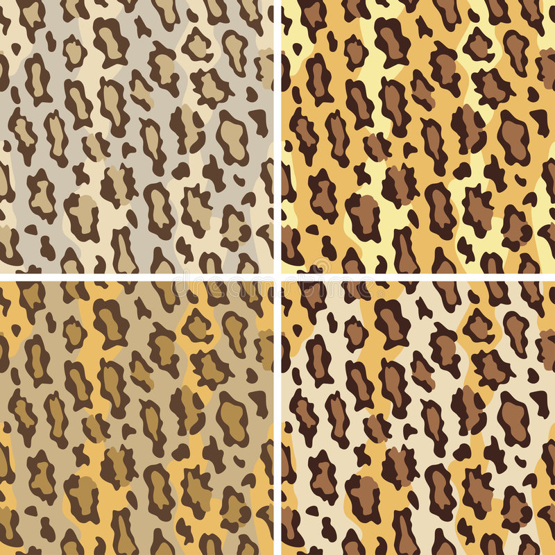 Download Leopard Pattern_Tame stock vector. Image of pattern, style - 3490847