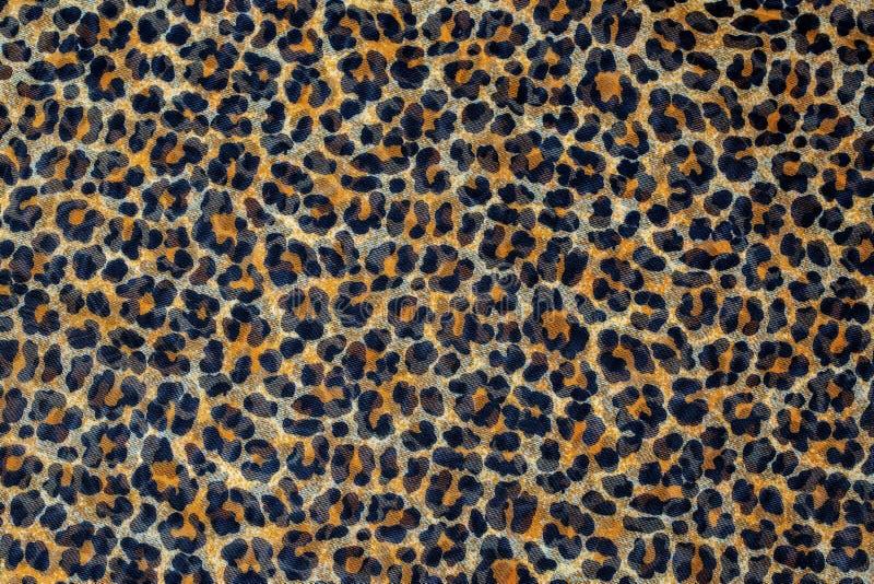 Leopard print, fabric pattern royalty free stock photo