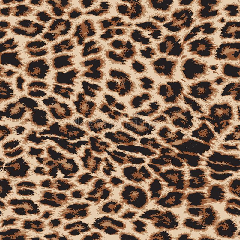 Free Leopard Print Repeat Pattern - Vector File. Stock Photography - 145861692