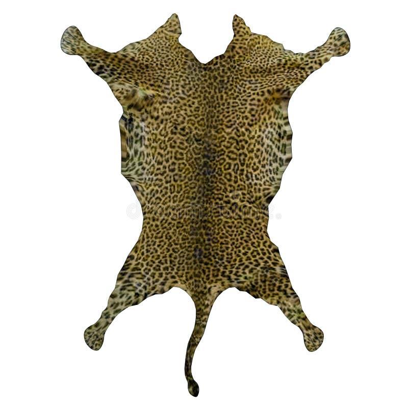 Leopard Rug Skin - 3D Render Stock Illustration - Illustration of ...