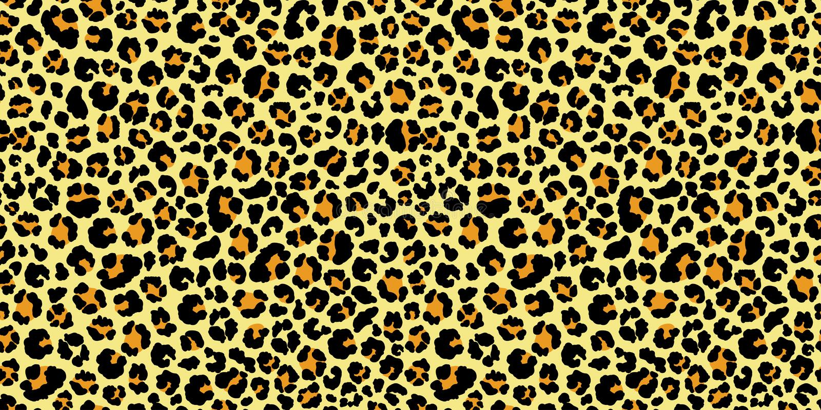 leopard seamless pattern animal print vector background stock rh dreamstime com Cheetah Print Drawing Cheetah Vector Background