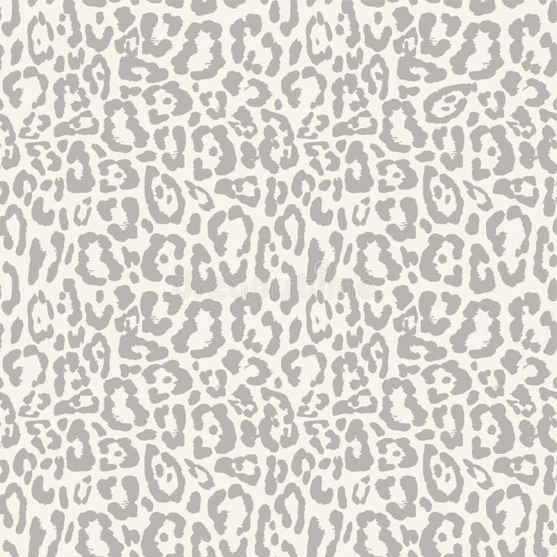 Leopard seamless pattern design, background vector illustration