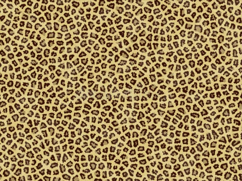 Leopard skin royalty free illustration