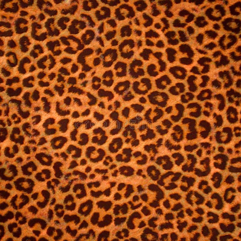Leopard skin background or texture stock illustration