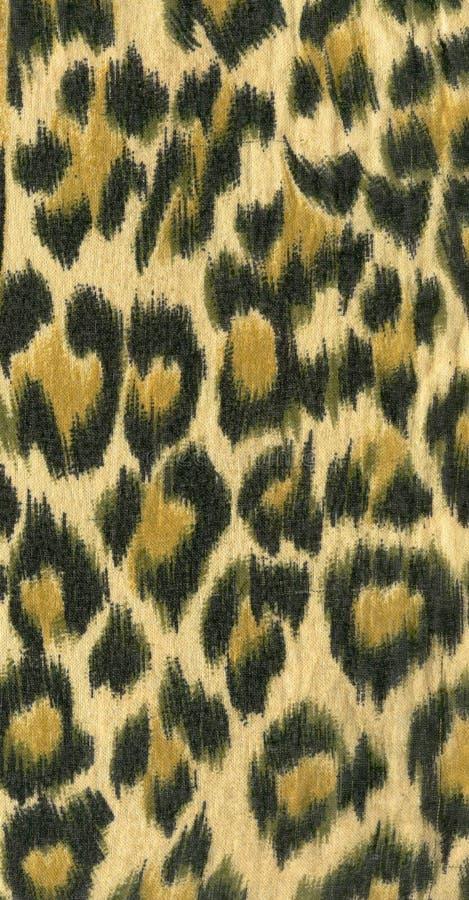 Leopard skin pattern I stock photography