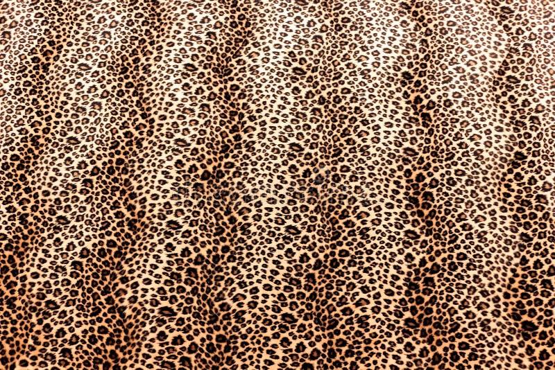 Leopard Skin Pattern. Leopard Skin Animal Print Fabric Pattern royalty free stock photos