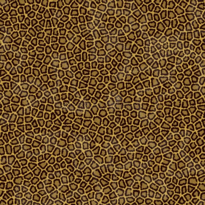 Leopard skin texture stock image