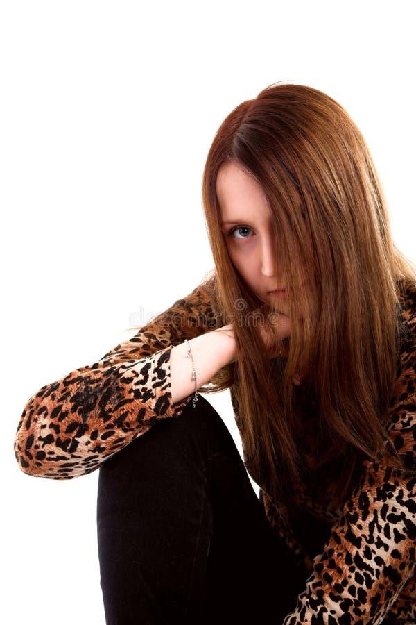 Leopardess fotografia stock