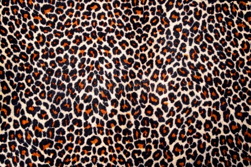 Leopardhauthintergrund stockbild