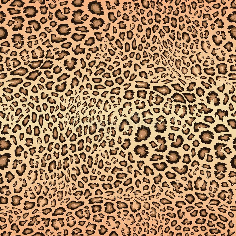 Leopardhudmodell seamless texturvektor E stock illustrationer