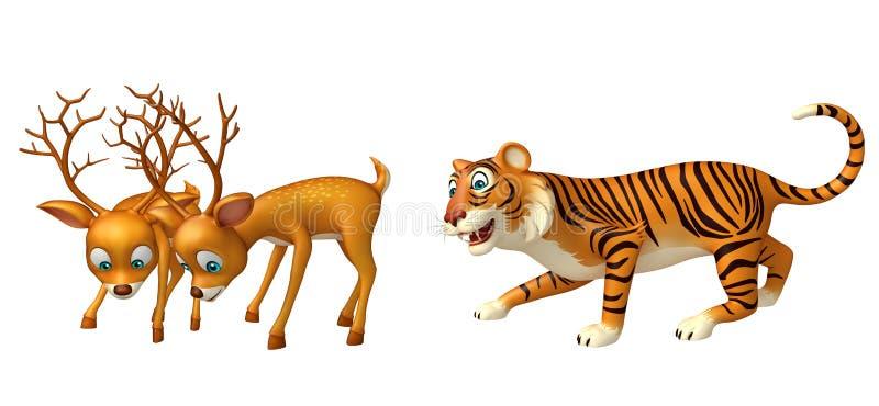 Leopardjagd lieb lizenzfreie abbildung