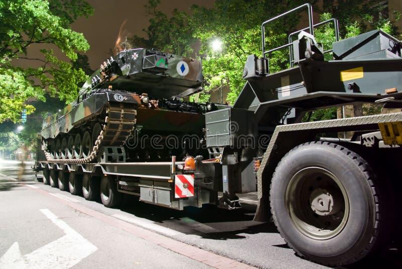 Leopardo 2A4 foto de stock royalty free