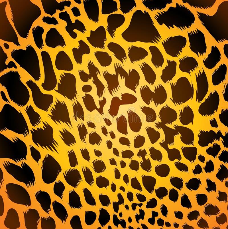 Leopardpelz lizenzfreie abbildung