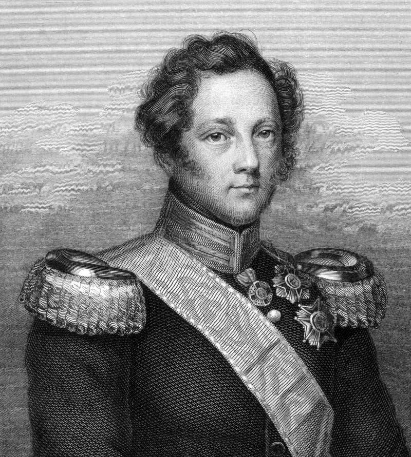 Leopold, Baden俄国沙皇时代的太子 免版税库存照片