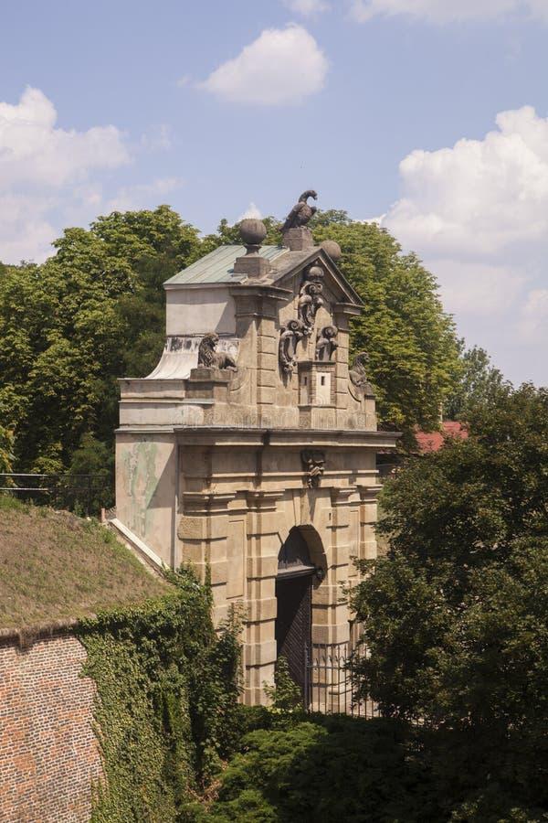 Leopold Gate stock image
