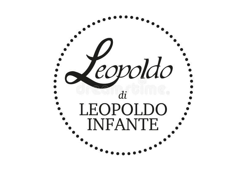Leopoldo Infante Logo. Naples vector format ai aviable