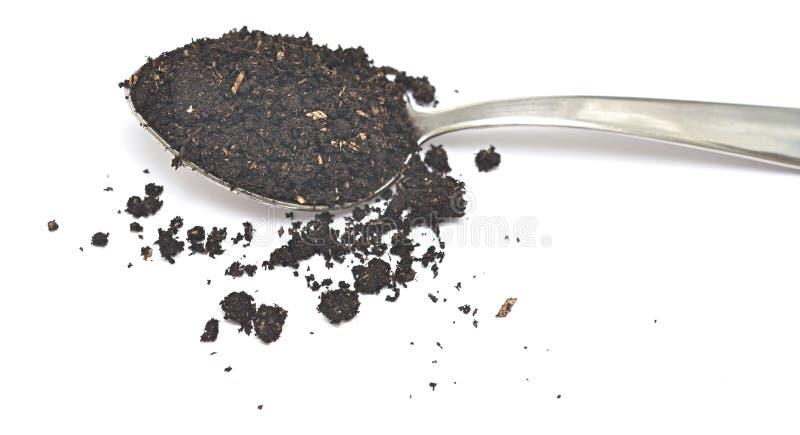 Download Lepel met grond stock afbeelding. Afbeelding bestaande uit gecultiveerd - 39101613