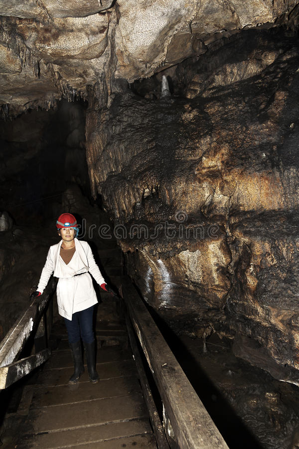 Lepenica cave in Bulgaria royalty free stock image