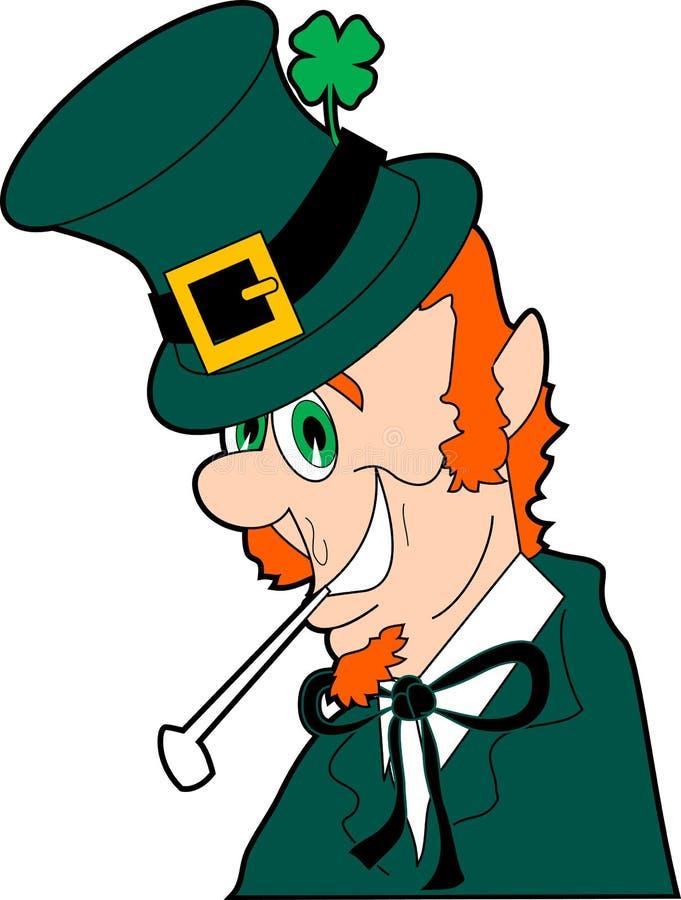 Leprechaun. Raster cartoon graphic depicting a leprechaun (St. Patrick's Day vector illustration