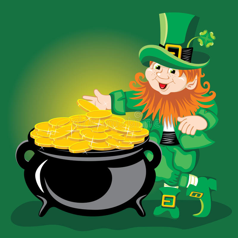 Leprechaun libre illustration