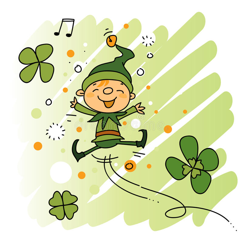 Leprechaun stock illustration