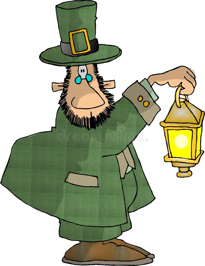Leprechaun 4 vector illustration
