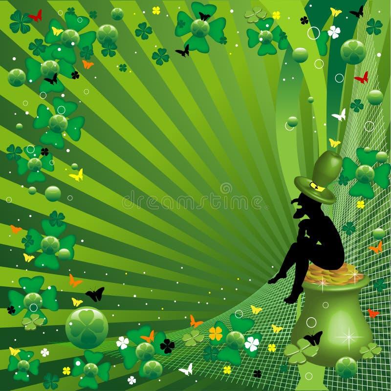 Leprechaun ilustração do vetor