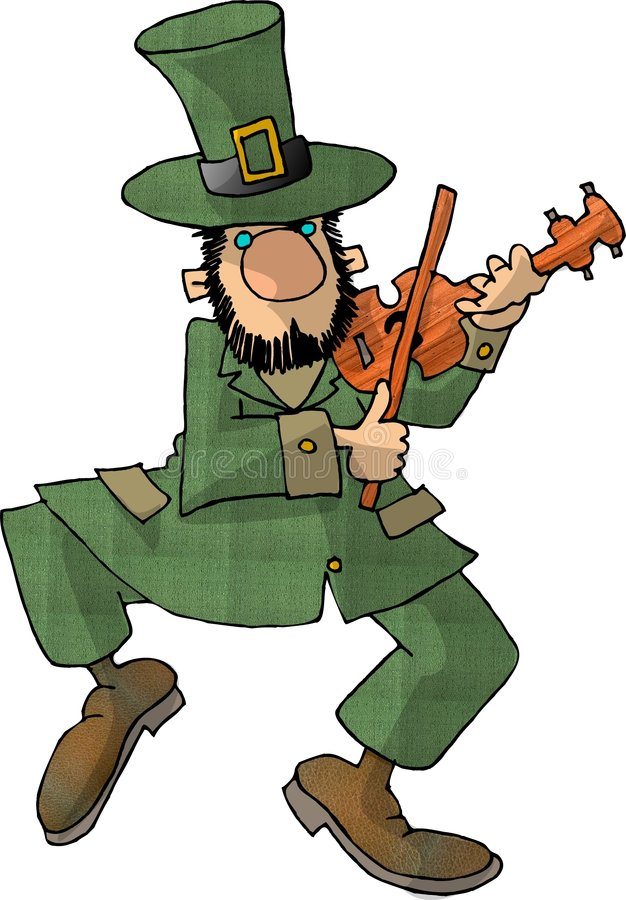 Leprechaun 7 stock illustration