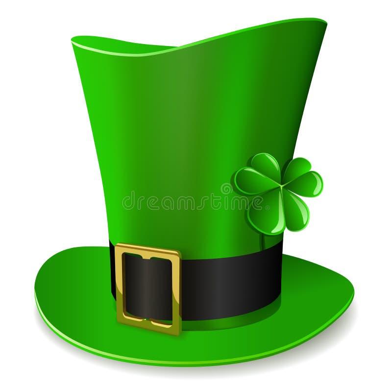Download Leprechaun green hat stock vector. Illustration of golden - 25566876