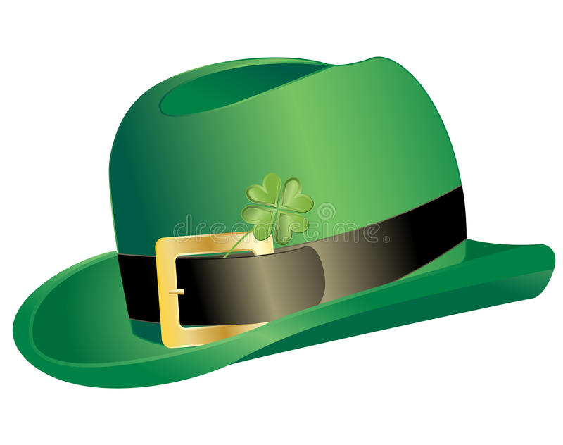 Download Leprechauns hat stock vector. Image of lucky, glossy - 23116500