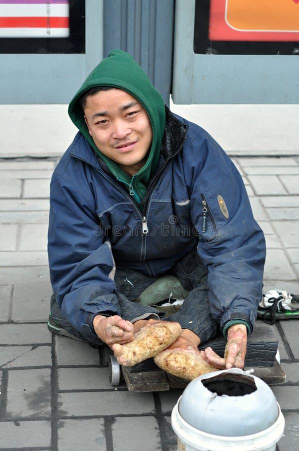Free Leprosy Beggar Royalty Free Stock Photos - 30976778