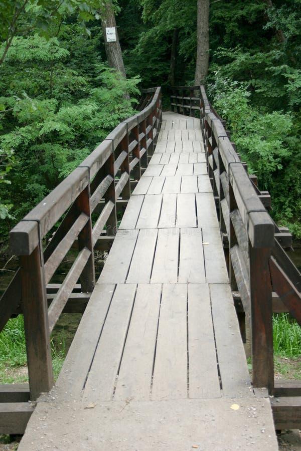 Lepterija bridge stock photography