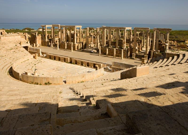 leptis Λιβύη μεγάλη στοκ φωτογραφία