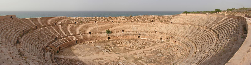 Download Leptis' amphitheatre stock photo. Image of daytime, amphitheatre - 4561180