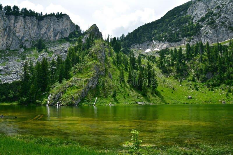 Leqinat jezioro W Kosowo fotografia royalty free