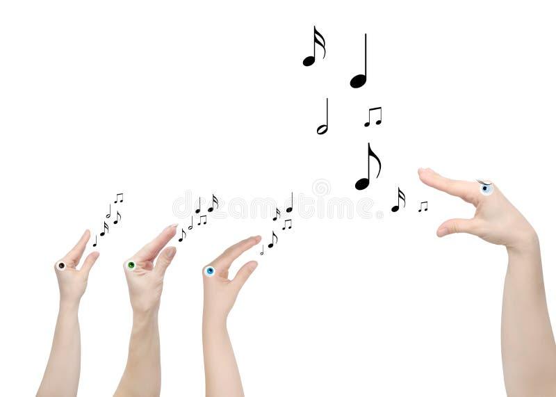 Leraar van muziek stock afbeeldingen