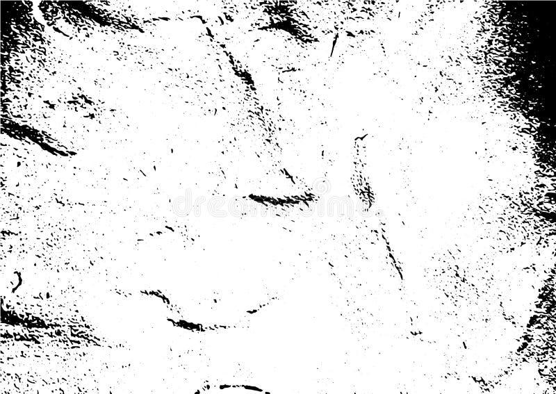 Lerciume in bianco e nero Struttura della sovrapposizione di emergenza Polvere di superficie astratta e concetto sporco approssim immagini stock